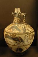 Ойнохойя из Камироса, о. Родос. 625—600 гг. до н.э. Париж, Лувр