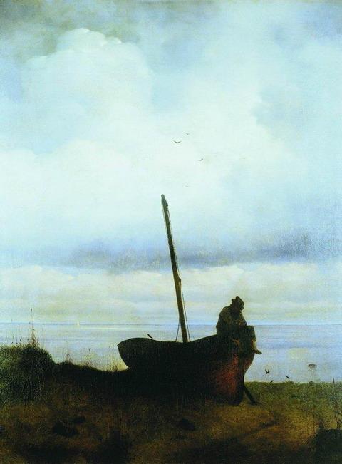 Вид на взморье в окрестностях Петербурга - 1835 год