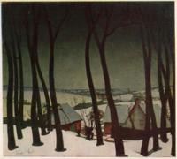 Зима во Фландрии (Валериус де Саделер, 1927 г.)