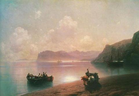 Утро на море - 1883 год
