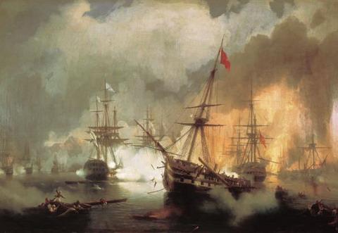 Морское сражение при Наварине 2 октября 1827 года - 1846 год