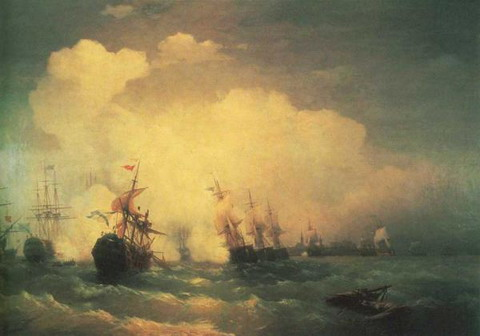 Морское сражение при Ревеле 9 мая 1790 года - 1846 год