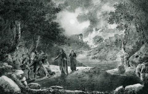 Предательство Иуды - 1834 год