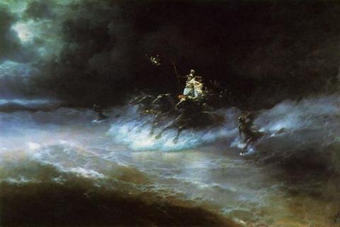 Путешествие Посейдона по морю - 1894 год