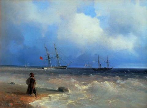 Морской берег - 1840 год