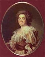 Портрет А.Я. Левицкой (Д.Г. Левицкий, 1780 г.)
