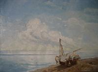 Штиль у крымских берегов (И.К. Айвазовский)