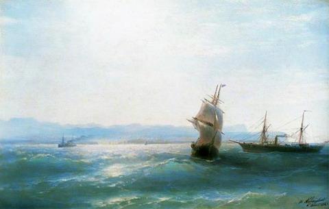 Солнечный день - 1884 год