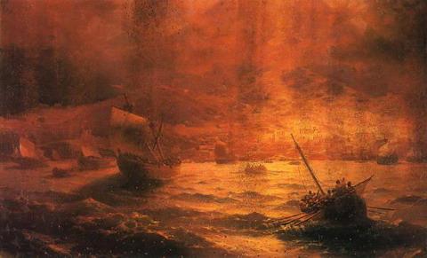 Гибель Помпеи - 1889 год