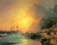 На острове Крит (И.К. Айвазовский)