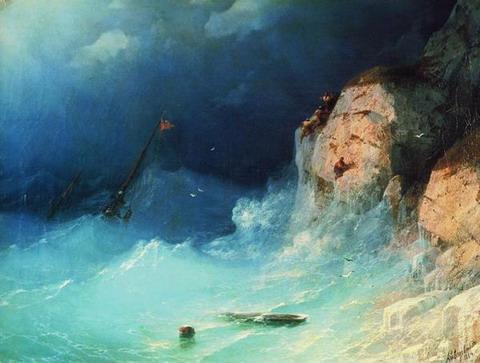 Кораблекрушение - 1864 год