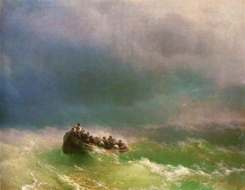 В бурю - 1872 год