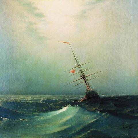 Ночь. Голубая волна - 1876 год