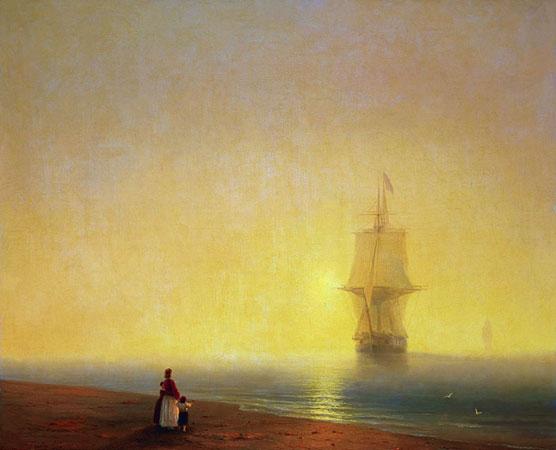 Утро на море. (Айвазовский И.К.)