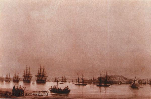 Севастополь. Вид города с Северной стороны.