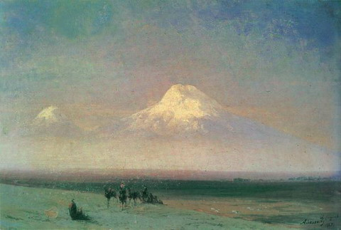 Гора Арарат - 1885 год