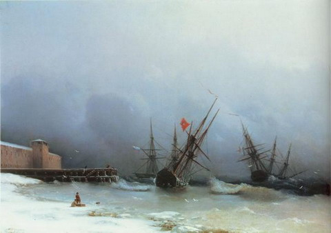 Сигнал бури - 1851 год