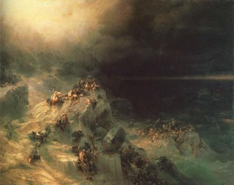 Всемирный потоп - 1864 год