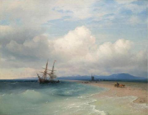 Вдоль крымского берега - 1872 год