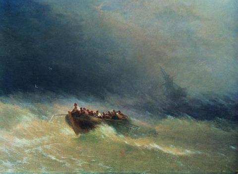 Кораблекрушение - 1880 год