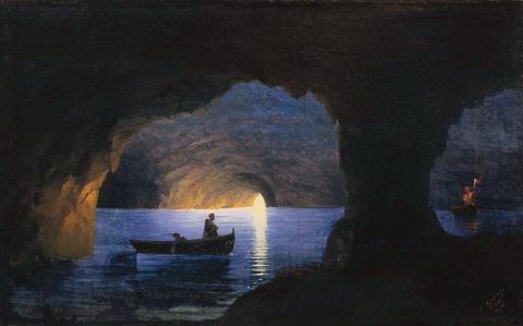 Лазоревый грот. Неаполь - 1841 год