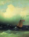 Буря на море 1847.