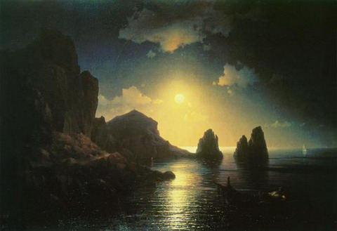 Морской вид - 1841 год