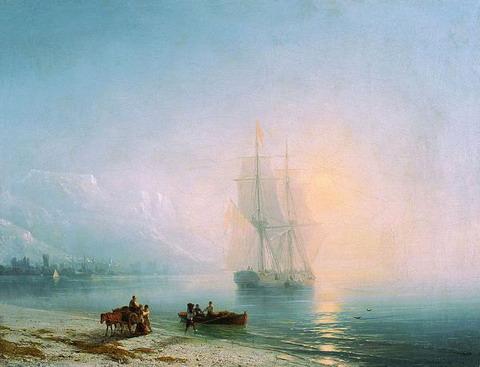 Спокойное море - 1863 год