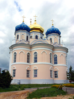 Трёхнефная абсида Спасо-Преображенского собора (г. Болхов, Россия)