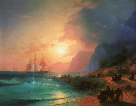 На острове Крит - 1867 год