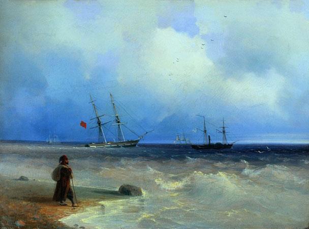 Морской берег. (Айвазовский И.К.)
