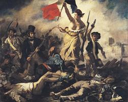 Свобода на баррикадах. Эжен Делакруа. 1830 г.