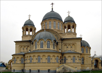 Алтарная абсида Крестовоздвиженского собора (Верхотурье, Россия)
