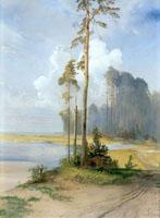 Сосны.<BR> Саврасов А.К.1880-е г.