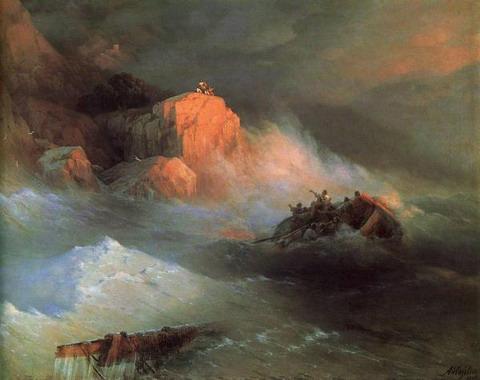 Кораблекрушение - 1876 год