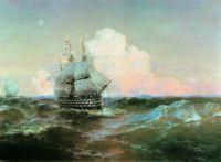 Корабль 12 апостолов (И.К. Айвазовский)