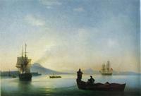Неаполитанский залив утром (И.К. Айвазовский)