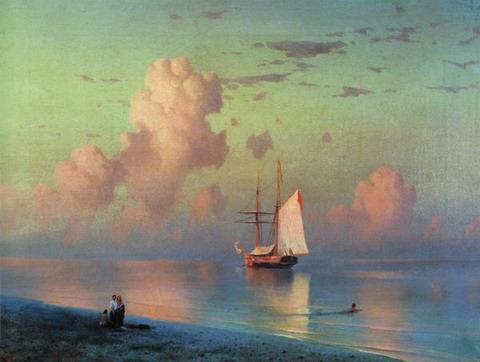 Закат - 1866 год