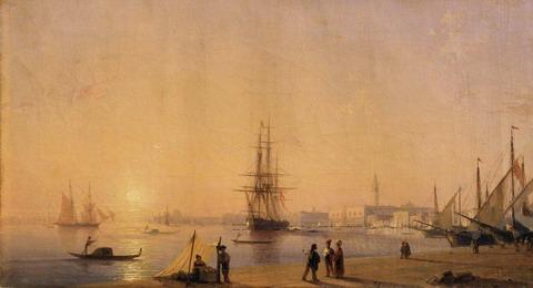 Венеция - 1844 год