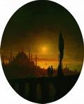 Лунная ночь у взморья 1847.