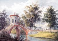 Китайский мостик в Царском Селе