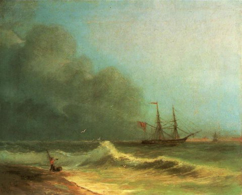 Море перед бурей - 1856 год