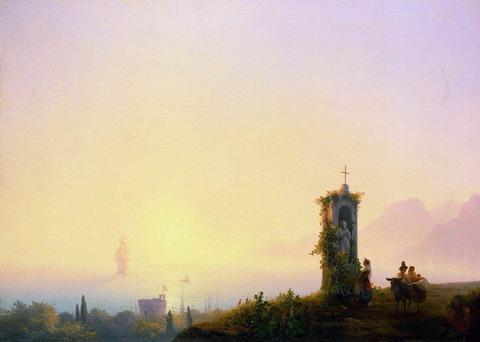 Часовня на берегу моря - 1847 год