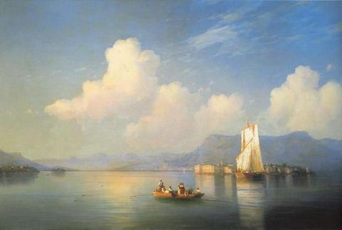 Итальянский пейзаж. Вечер - 1858 год