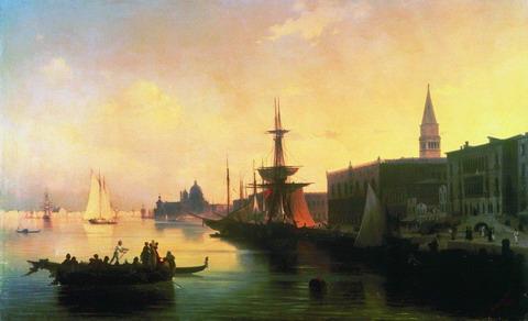 Венеция - 1842 год