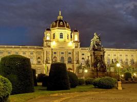 Площадь Марии-Терезии. Вена