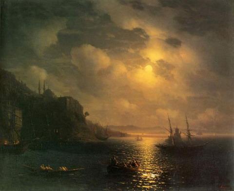 Золотой рог. Босфор - 1872 год