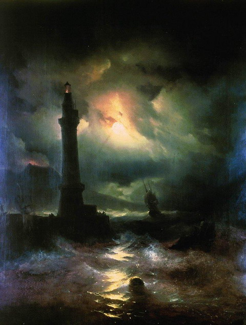 Неаполитанский маяк - 1842 год