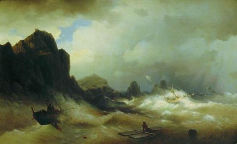 Кораблекрушение - 1843 год