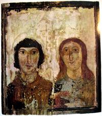 Мученик и мученица (VI-VII века)